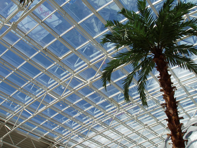 Beautiful Transparent Roofing / Skylights